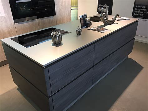 Sonstige-musterküche Küche Mit Echter Edelstahl-arbeitsplatte Matt