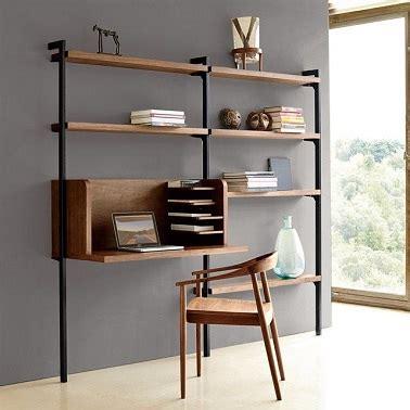 ikea etagere bureau un aménagement bureau étagères bois design la redoute