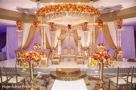 heavenly indian wedding mandap decorations photo