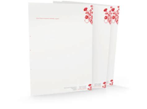 briefpapier vorlagen briefbogen selbst gestalten und drucken