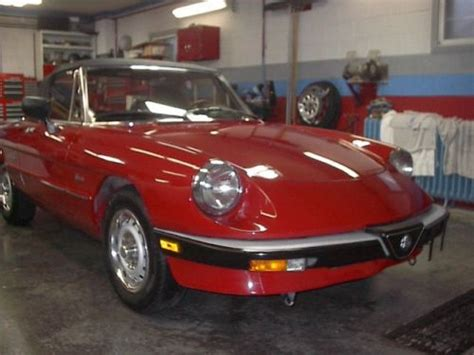 Sell Used 1986 Alfa Romeo Spider Graduate Convertible 2