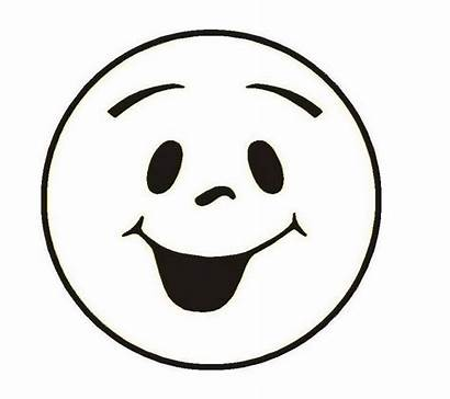 Smiley Face Coloring Pages Emoji Printable Smile