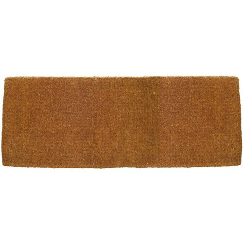 Thick Coir Doormat by Entryways Blank 18 In X 47 In Thick Woven