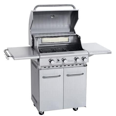 barbecue gaz bruleur inox barbecue inox 224 gaz 4 br 251 leurs 13 5 kw achat vente barbecue barbecue inox 224 gaz soldes d