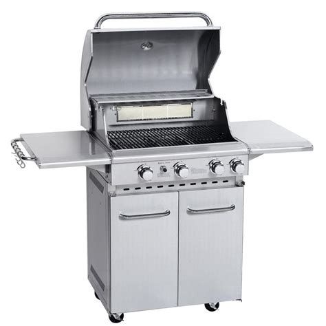 barbecue inox 224 gaz 4 br 251 leurs 13 5 kw achat vente barbecue barbecue inox 224 gaz soldes d