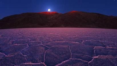 Ground Sky Rock Night Moon Hill Stars
