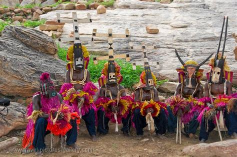 Pictures of Mali - Dogon Dance-0018 - the dances have ...