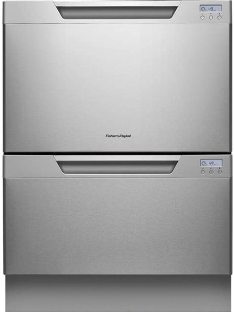 Fisher & Paykel DD24DCX7 Semi-Integrated Double DishDrawer