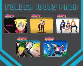 Anime Folder Icons 2017 Folder Icons Pack Anime Boruto Next Generation