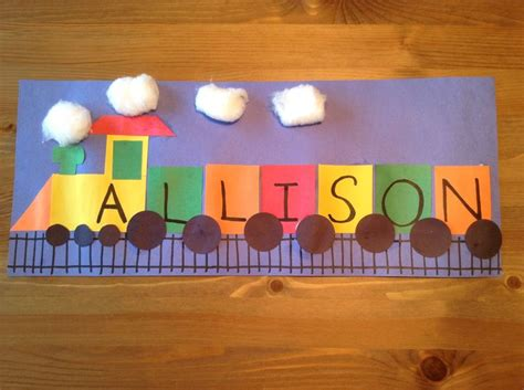Train Crafts For Kids  Entertrainment Junction