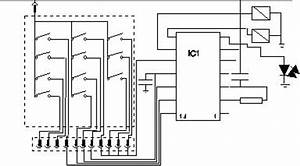 bicycle alarm electronic project electronics information With electronic code lock circuit diagram