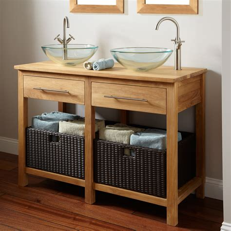 30109 furniture for storage excellent excellent handcrafted mahogany unfinished rustic vanity