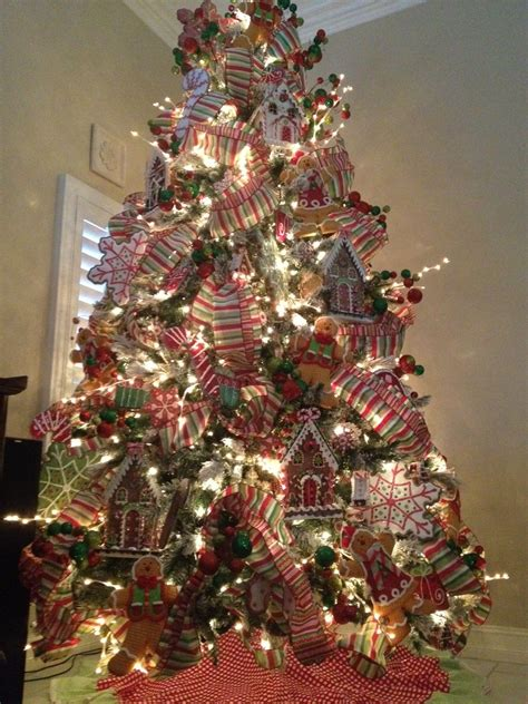 gingerbread christmas tree exquisite professional