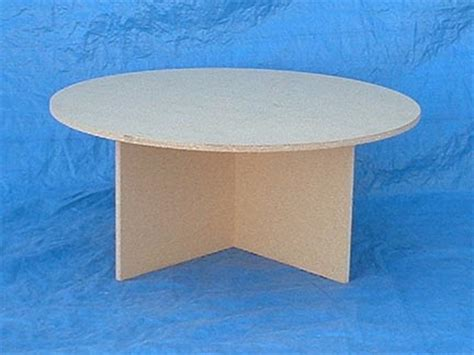 christmastreetables com custom round wood tables for under