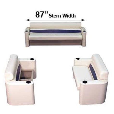 Boat Lounge Furniture by Pontoon Boat Seats Furniture 87 In Across Back Two