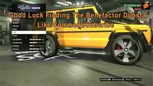 GTA Online Benefactor Dubsta Location - YouTube