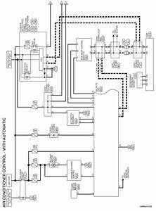Nissan Sentra Service Manual  Wiring Diagram - Automatic Air Conditioner