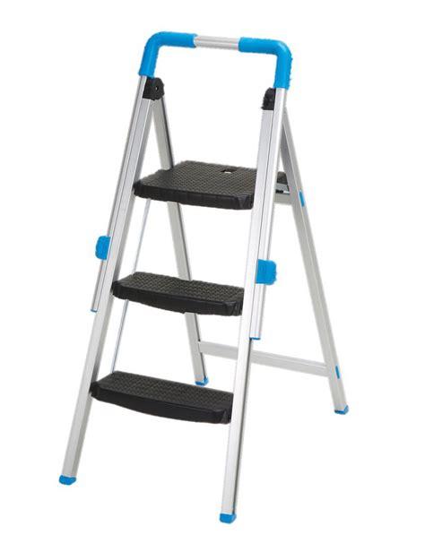 Bunnings Kitchen Ladder by Mac Allister 3 Tread Aluminium Step Stool Departments