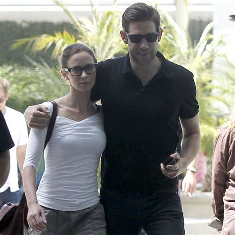The couple's 9 cutest quotes about each other. Emily Blunt and John Krasinski Second Wedding Anniversary ...