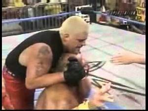 Hulk Hogan vs Dustin Rhodes - WCW 2000 - YouTube