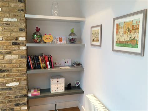 Paintable Floating Shelves Made To Measure For Alcoves And