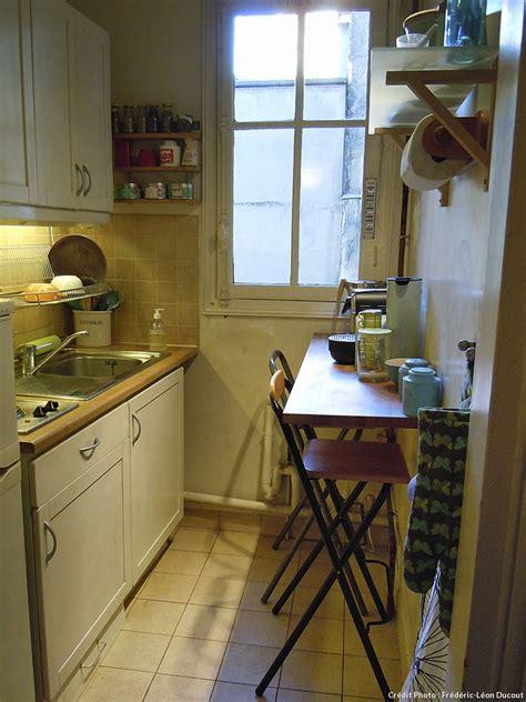cuisine 4m2 aménagement cuisine gain de place transformer
