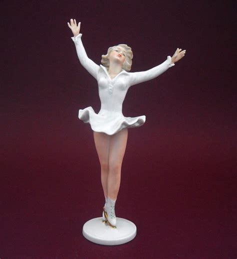 wallendorf ice skater figurine catawiki