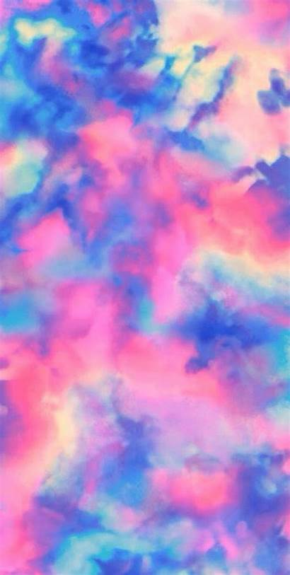 Pastel Ombre Dye Tie Iphone Wallpapers Marble