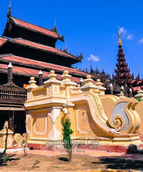 Boat Tour Yangon by Boat Excursion To Mingun From Mandalay Myanmar Land