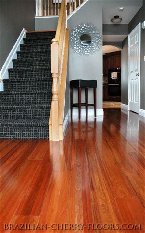 brazilian cherry floors cherry wood floors grey hardwood