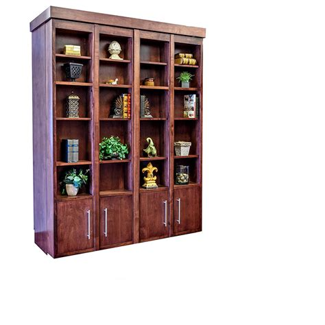 Murphy Bookcase by Bookcase Wallbeds Murphy Beds Wilding Wallbeds