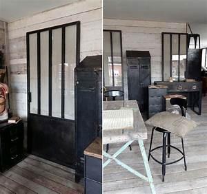 Bureau Industriel Maison Du Monde : tables basses mobilier industriel l 39 or du temps ~ Teatrodelosmanantiales.com Idées de Décoration