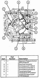 Transmission Control Solenoid Located On A 1998 Ford