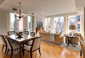 Small, Living, Room, Dining, Combination, Design, Ideas