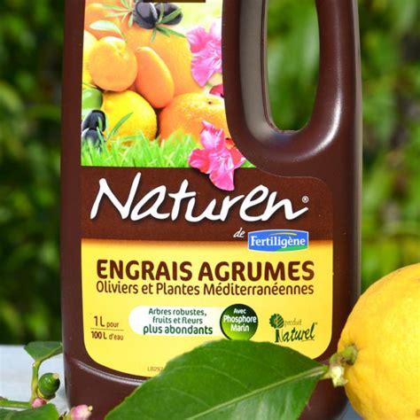 engrais liquide bio agrumes orangers citronniers et oliviers naturen