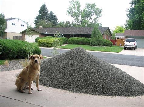 How Much Area Does A Yard Of Gravel Cover by Gravel Overdose Pt 2 Back Yard Tracey