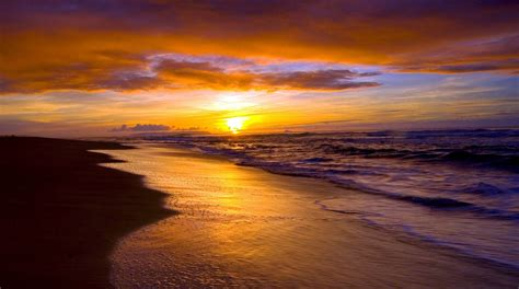 Amazing Beach Sunrise Images  Full Hd Wallpapers