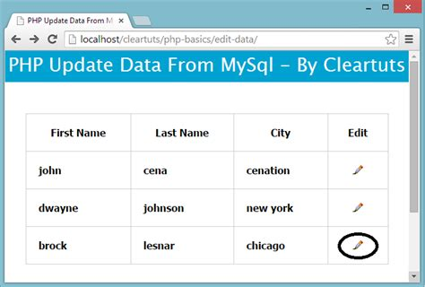 sql update from another table php update data of mysql coding cage