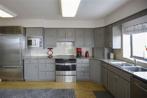 Cabinet Painting by Painting Kitchen Cabinets White Denver Paint Contractor