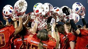 Inside the world of women's tackle football - Video ...