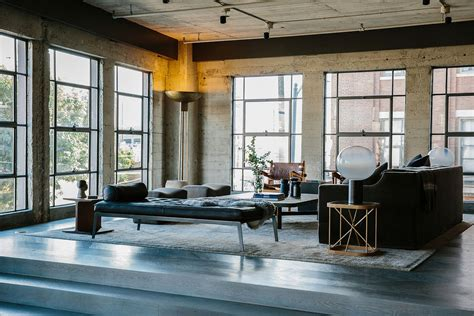 Industrial Loft by 1920 S Warehouse In Los Angeles Turned Into A Splendid