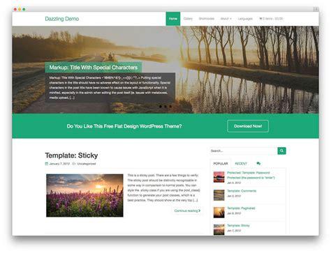 30+ Free Responsive Wordpress Business Themes 2017