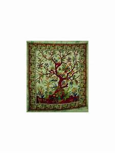 Purchase indian tree of life wall hanging tapestry throw