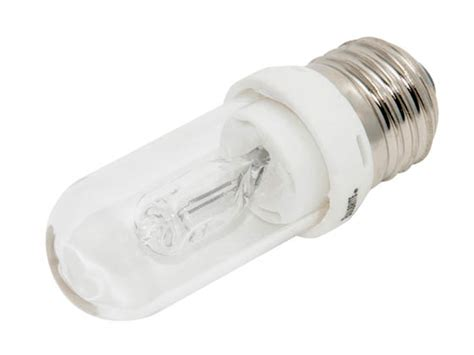 bulbrite 75w 120v t8 clear halogen bulb q75cl edt