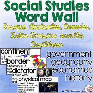 Social Studies Word Wall | Social studies classroom ...