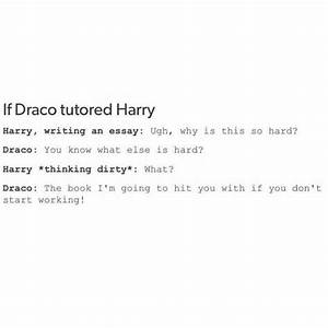 I personally th... Drarry Fanfiction Dirty