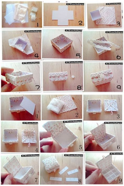 how to make lovely jewelry box step by step diy tutorial