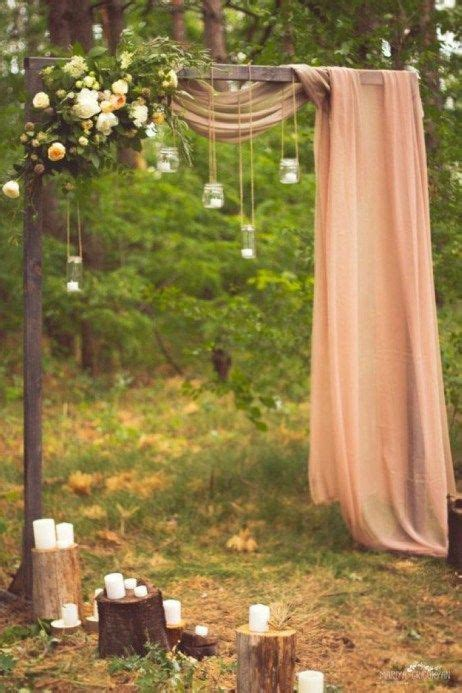 elegant outdoor wedding decor ideas   budget peach