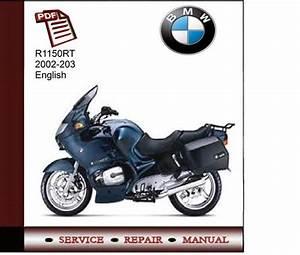 Bmw R1150rt 2002-2003 Service Manual