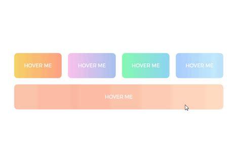 gradient buttons  background color change